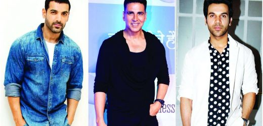 Akshay, John and Rajkummar to fight it out at box office!
